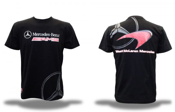 Camiseta Mercedes Benz Roadshop